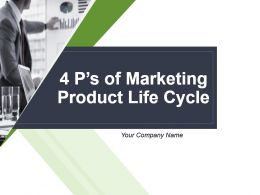 4 Ps Of Marketing Product Life Cycle Powerpoint Presentation Slides