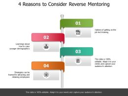 4 Reasons To Consider Reverse Mentoring