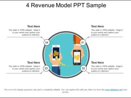 4 Revenue Model Ppt Sample