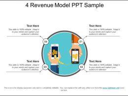 4 Revenue Model Ppt Sample