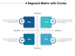 4 Segment Matrix With Circles