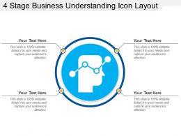 4 Stage Business Understanding Icon Layout