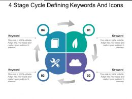 4 Stage Cycle Defining Keywords And Icons