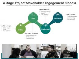 4 Stage Project Stakeholder Engagement Process
