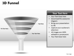4 Staged Funnel Diagram