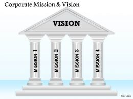4 Staged Vision And Mission Diagram 0114