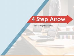 4 Step Arrow Analysis Evaluation Marketing Assessment Communication