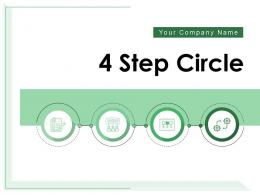 4 Step Circle Process Organization Management Resource Planning Communication