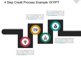 4 Step Credit Process Example Of Ppt