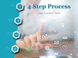 4 Step Process Business Planning Entrepreneurs Marketing Recruitment Risk