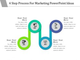 4 Step Process For Marketing Powerpoint Ideas