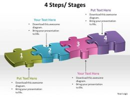 4 steps process stages powerpoint slides and ppt templates