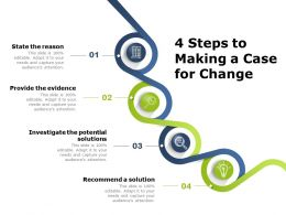 4 Steps To Making A Case For Change
