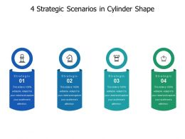 4 Strategic Scenarios In Cylinder Shape