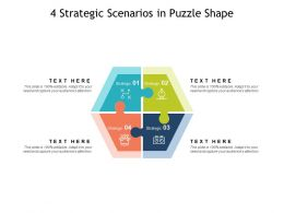 4 Strategic Scenarios In Puzzle Shape