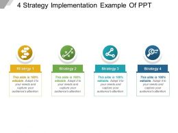 4 Strategy Implementation Example Of Ppt