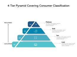 4 Tier Pyramid Covering Consumer Classification