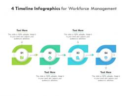 4 Timeline For Workforce Management Infographic Template