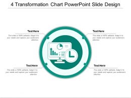 4 Transformation Chart Powerpoint Slide Design