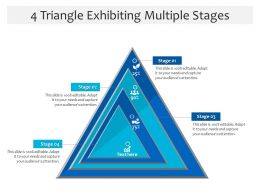4 Triangle Exhibiting Multiple Stages