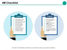 4m Checklist Slide2 Ppt Slides Grid