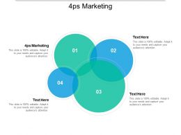 4ps Marketing Ppt Powerpoint Presentation Outline Designs Download Cpb