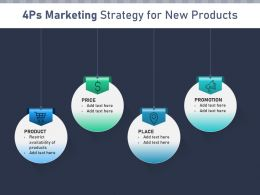 4ps Marketing Strategy For New Products