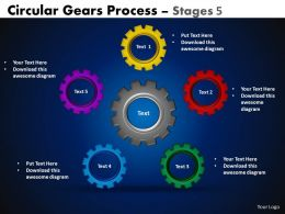 56 Circular Gears Flowchart Process Diagram