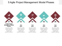 5 Agile Project Management Model Phases Ppt Powerpoint Presentation Cpb