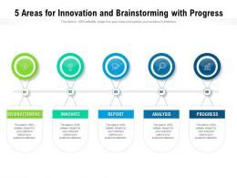 5 Areas For Innovation And Brainstorming With Progress