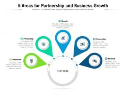 5 Areas For Partnership And Business Growth