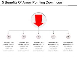 5 Benefits Of Arrow Pointing Down Icon
