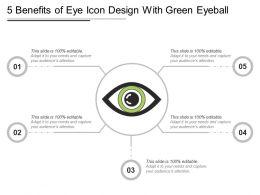 5 Benefits Of Eye Icon Design With Green Eyeball