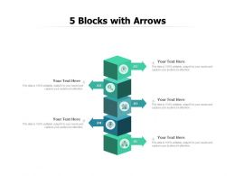 5 Blocks With Arrows