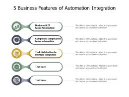 5 Business Features Of Automation Integration