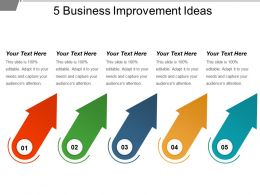 5 Business Improvement Ideas Powerpoint Guide