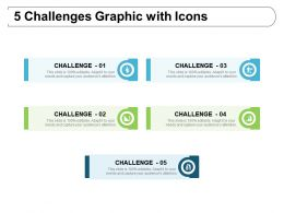 5 Challenges Graphic With Icons