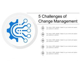 5 Challenges Of Change Management