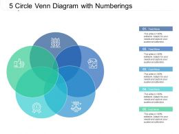 5 Circle Venn Diagram With Numberings