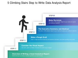 5 Climbing Stairs Step To Write Data Analysis Report