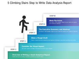 5 Climbing Stairs Step To Write Data Analysis Report