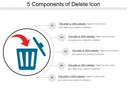 5 Components Of Delete Icon