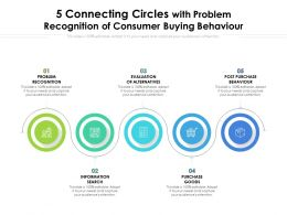 5 Connecting Circles With Problem Recognition Of Consumer Buying Behaviour