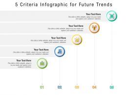 5 Criteria For Future Trends Infographic Template