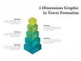 5 Dimensions Graphic In Tower Formation