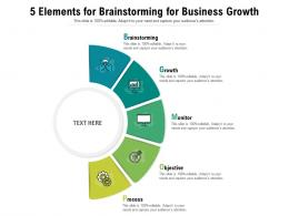 5 Elements For Brainstorming For Business Growth
