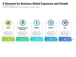 5 Elements For Business Global Expansion And Growth