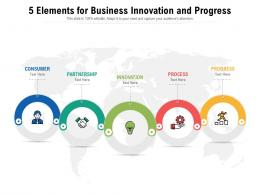 5 Elements For Business Innovation And Progress