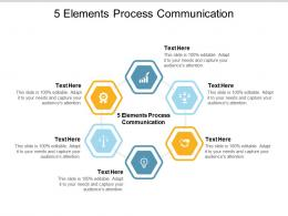 5 Elements Process Communication Ppt Powerpoint Presentation Summary Mockup Cpb