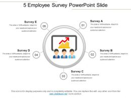 5 Employee Survey Powerpoint Slide